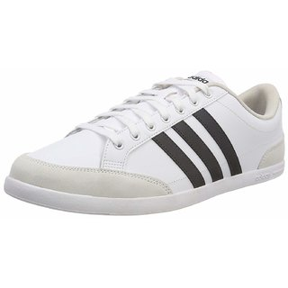 Adidas Mens Caflaire White Tennis