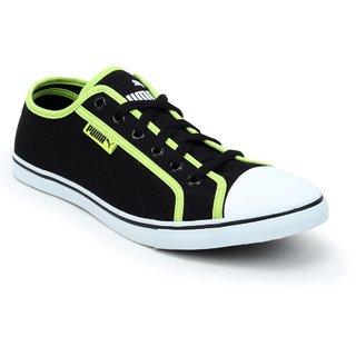 Puma Men Black White Streetballer DP Casual Shoes 36176114