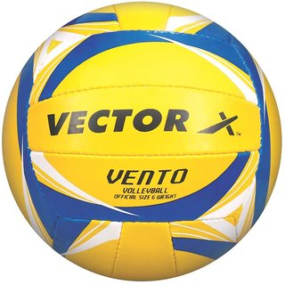 Vector X Vento Volleyball 18 Panels (Yellow-Blue)