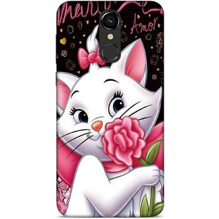 new product 21631 ee66d Digimate Printed Designer Soft Silicone TPU Mobile Back Case Cover For Lava  Z70 4G Design No. 0015