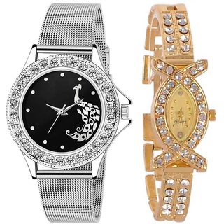 TRUE CHOICE NEW FASHION SUPER AND  SOBER 2019 COMBO WATCH FOR WOMEN WITH 6 MONTH WARRNTY