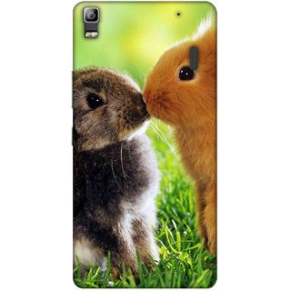 Digimate Printed Designer Soft Silicone TPU Mobile Back Case Cover For Lenovo A7000 Design No. 1118