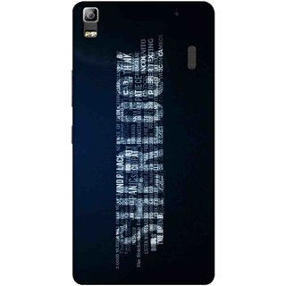 Digimate Printed Designer Soft Silicone TPU Mobile Back Case Cover For Lenovo K3 Note Design No. 0379