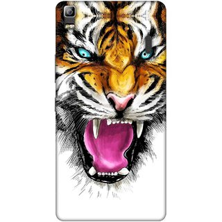 Digimate Printed Designer Soft Silicone TPU Mobile Back Case Cover For Lenovo K3 Note Design No. 0028