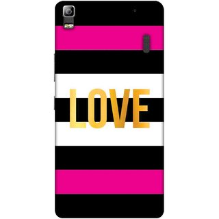 Digimate Printed Designer Soft Silicone TPU Mobile Back Case Cover For Lenovo K3 Note Design No. 0431