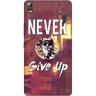 Digimate Printed Designer Soft Silicone TPU Mobile Back Case Cover For Lenovo A7000 Design No. 0864