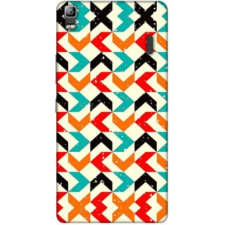 Digimate Printed Designer Soft Silicone TPU Mobile Back Case Cover For Lenovo K3 Note Design No. 0619