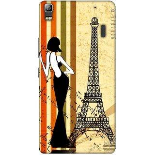 Digimate Printed Designer Soft Silicone TPU Mobile Back Case Cover For Lenovo K3 Note Design No. 0239