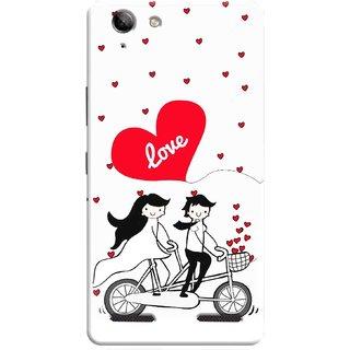 Digimate Printed Designer Soft Silicone TPU Mobile Back Case Cover For Lenovo K5 Plus Design No. 0575