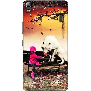 Digimate Printed Designer Soft Silicone TPU Mobile Back Case Cover For Lenovo K3 Note Design No. 0245