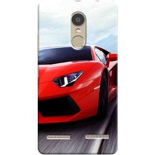 Digimate Printed Designer Soft Silicone TPU Mobile Back Case Cover For Lenovo K6 Power Design No. 0195