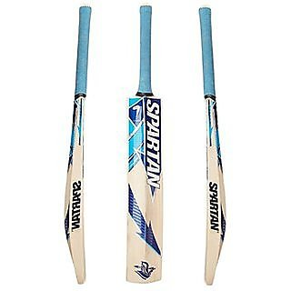 Spartan blue cricket bat poplar willow