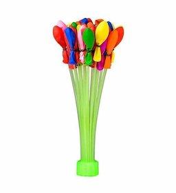Crazy Sutra Holi Magic Water Balloons (Multicolour) - (1 Sticks, 37 Balloons)