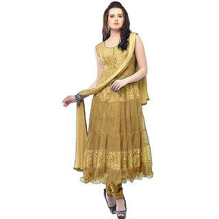 Florence Women's Cream Brasso Dress Material