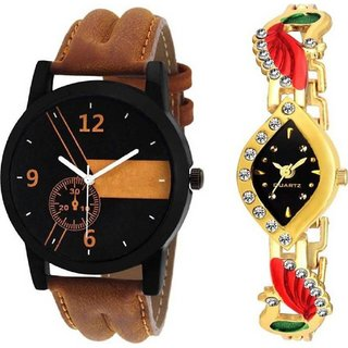 TRUE CHOICE NEW FASHION SUPPER COUPLE WATCH WITH 6 MONTH WARRANTY