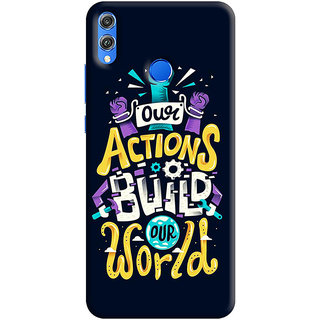 FABTODAY Back Cover for Huawei Honor 8C - Design ID - 0258