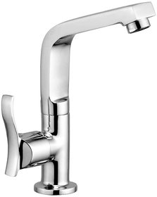 Oleanna Angel Brass Swan Neck with Extended Swivel Spout - Chrome Finish