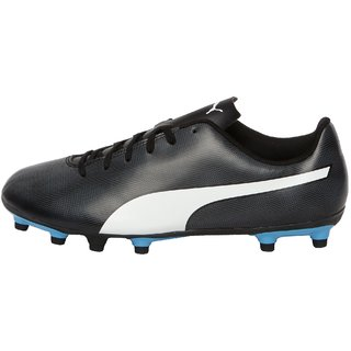 Puma Mens Black Rapido FG Football Shoes