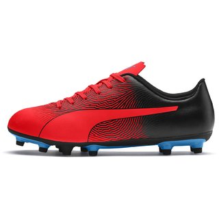 Puma Mens Red & Black Spirit II FG Football Shoes