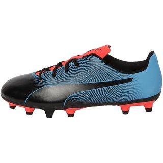 Puma Womens Blue & Black Spirit II FG Football Shoes