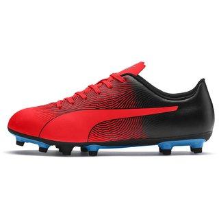 Puma Womens Red & Black Spirit II FG Football Shoes