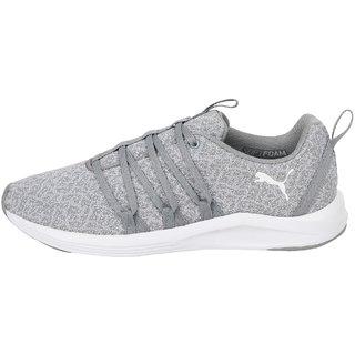 Puma Womens Grey Prowl Alt Knit Wns Walking Shoes