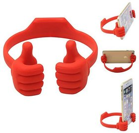 Funny Cute Thumb OK Stand Mobile Phone Tablets Stand Holder - Multicolour
