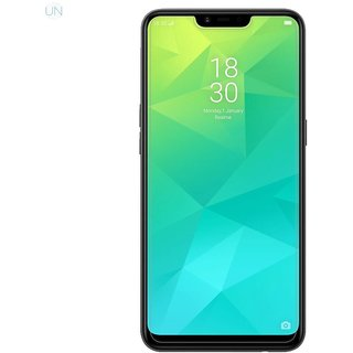 5 Ace Full Glue Full Coverage Edge-to-Edge  Screen Covered Tempered Glass for OPPO REAL ME 2 With installation kit (white)