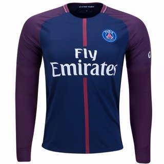 low priced 44c7e e719f psg football full sleeves jersey