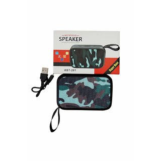 doitshop AST 201 Speaker ortable Wireless Speakers with Memory Card and USB  Slot with Bluetooth Range for All Devices