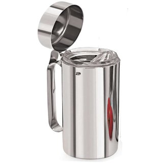Stainless Steel Oil Dispenser , 1000 ml , Silver