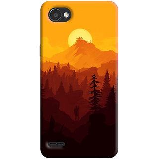 FABTODAY Back Cover for LG Q6 Plus - Design ID - 0640