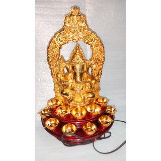 Lord Ganesh Electric Diya