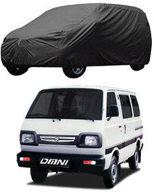 AutoRetail Maruti Suzuki Omni Grey Car Body Cover For 2001 Model (Triple Stiched, without Mirror Pocket)