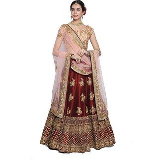 New Latest Bollywood Designer Kesi Red Embroidered Lehenga Choli
