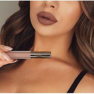 TMG Lyon Beauty Matte Liquid Lipstick (Light Brown / Nuda Beauty)