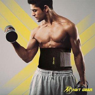 Gym Belt AB Shaper Sweat Belt For Men AB Shaper for Men - Free Size - XS to XXXL