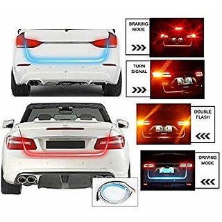 Flow LED Strip Trunk Light / Dicky Light / Boot LED DRL Strip Light (works with all cars)