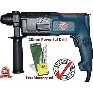 Buy Decoy Rotary Hammer Powerful Drill Machine 20MM + 5pcs ...