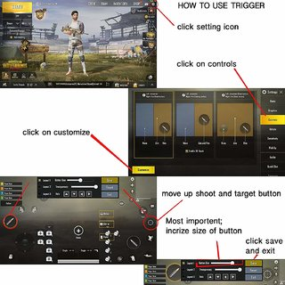 TOTU PUBG Gaming Joystick for Mobile Trigger for Mobile Controller Fire  Button Assist Tool