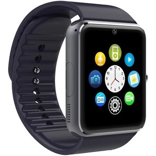 GT08 smart watch Smart phones compatiable smart watch with camera || smart watch with TF card|| smart watch with sim card support ||fitness tracker|| bluetooth smart watch||Wrist Watch Phone|| 4G Smart Watch||Any color | Compatible with smartphones
