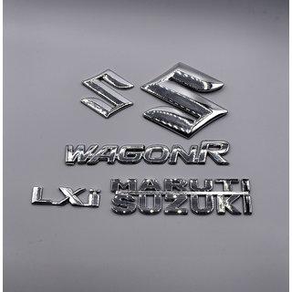 Suzuki Wagon R LXi Monogram logo emblem Kit