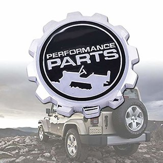 Jeep Performance Parts >> Dateen Metal Jeep Performance Parts Car Emblem Badge Sticker Decal For Jeep Silver