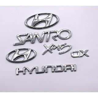 Customize Hyundai Santro Xing Hyundai Emblem Kit