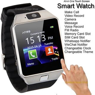 6ecd1aed723dde Buy Bingo's Dz09 Square Unisex Smart watch With Sim and With Bluetooth  Online @ ₹849 from ShopClues