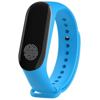 M3 Bluetooth Blood Pressure Heart Rate Monitor IP67 Waterproof Bracelet Fashion Smart Wristband