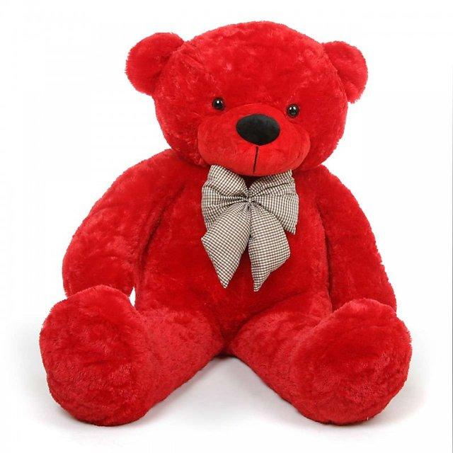 Red Teddy Bear 5 Feet, Buy Avs 5 Feet Teddy Bear 152 Cm Red Online Get 52 Off