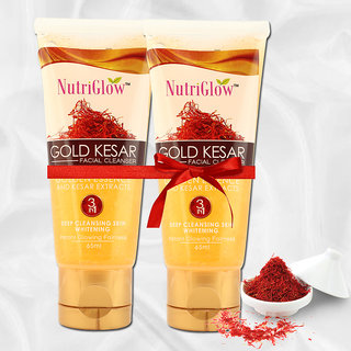 Nutriglow-Gold Kesar Facial Cleanser( Set of two)