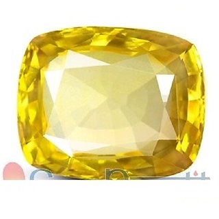 1to3ct  Yellow Sapphire (Pukhraj) Natural Original Top Quality Lab Certified gemstone