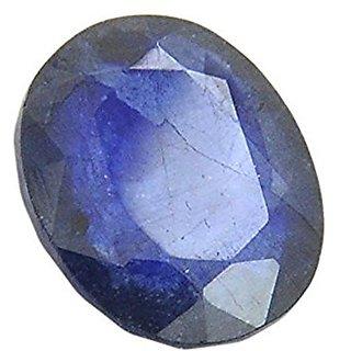 Jaipur Gemstone 4.25 carat Blue Sapphire(neelam)
